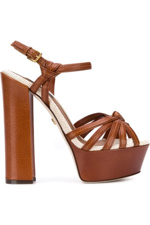 Dolce & Gabbana Platform cross-strap sandals