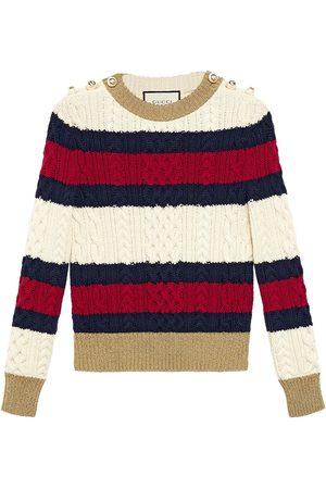 Gucci Striped knit top - Multicolour