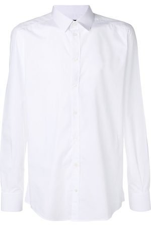 Dolce & Gabbana Men Shirts - Classic plain shirt
