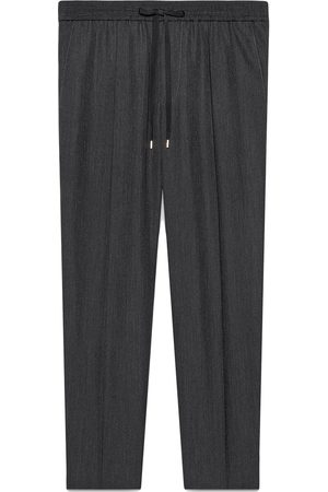 Gucci Tailored wool jogging pant - Grey