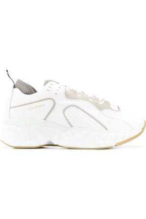 Acne Rockaway leather sneakers