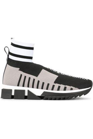 Dolce & Gabbana Women Sneakers - Colour-block sock sneakers