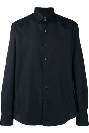 Salvatore Ferragamo Men Shirts - Gancini printed shirt