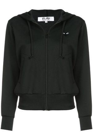 Comme des Garçons Drawstring zip hoodie