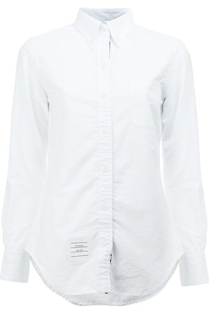 Thom Browne Women Long sleeves - Classic Long Sleeve Button Down Shirt In Oxford