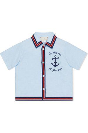 Gucci Anchor detail shirt