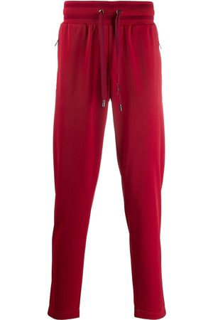 Dolce & Gabbana Ribbed waistband track pants