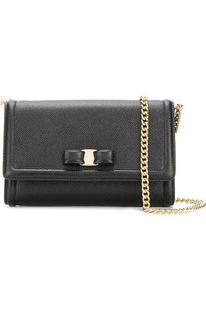 Salvatore Ferragamo Women Clutches - Vara flap bag