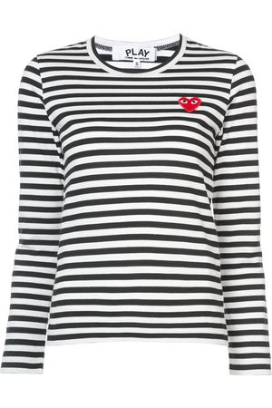 Comme des Garçons Striped long sleeved T-shirt