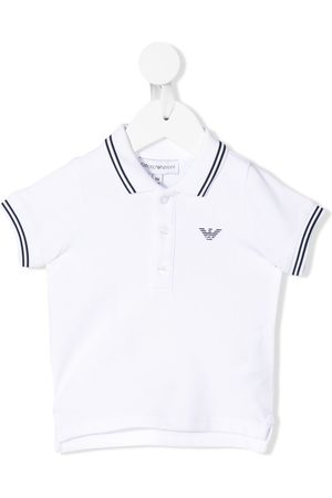 Emporio Armani Polo Shirts - Striped trim polo shirt