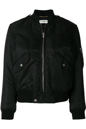Saint Laurent Classic zipped bomber jacket