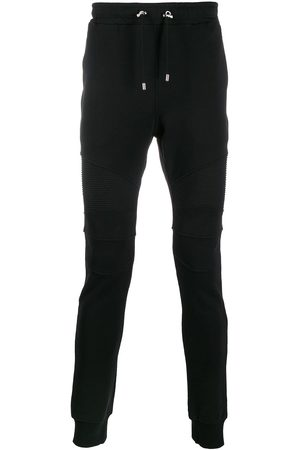 Balmain Ribbed panels track trousers
