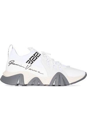 VERSACE Squalo GV Signature print sneakers