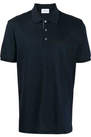 Salvatore Ferragamo Men Polo Shirts - Classic polo shirt