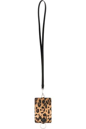 Dolce & Gabbana Leopard print card holder