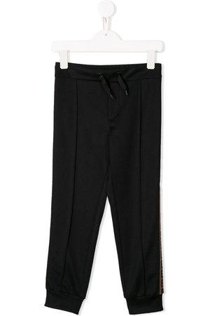 Fendi FF logo track pants