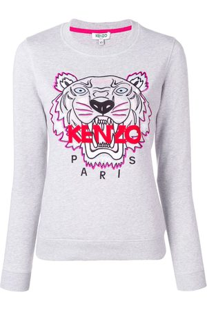 Kenzo Tiger embroidered sweatshirt - Grey