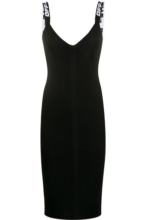 OFF-WHITE Industrial knitted dress