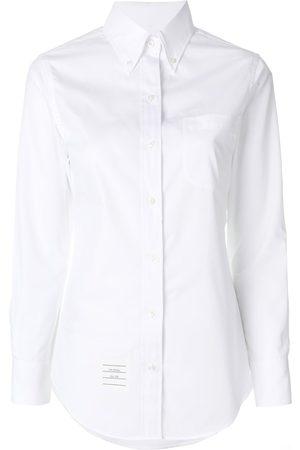 Thom Browne Women Shirts - Button-down slim-fit shirt