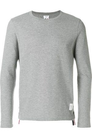Thom Browne Men Sweatshirts - Classic sweatshirt - Grey