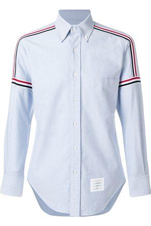 Thom Browne Rwb Elastic Stripe Oxford Shirt