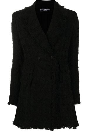 Dolce & Gabbana Double-breasted tweed blazer