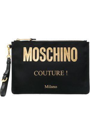 Moschino Women Clutches - Logo clutch bag