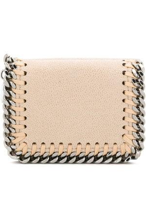 Stella McCartney Falabella small flap wallet - Neutrals