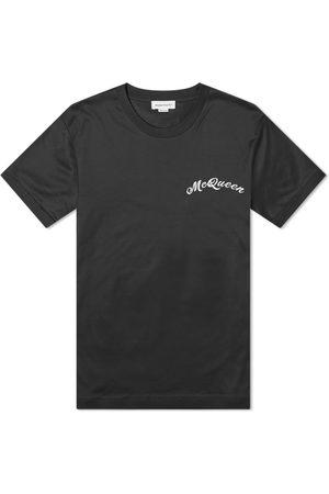 Alexander McQueen Men T-shirts - Embroidered Logo Tee