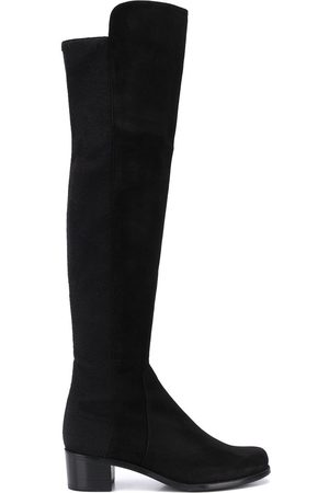 Stuart Weitzman Thigh-high low heel boots