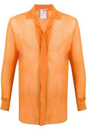 MARCO DE VINCENZO 3D effect textured shirt