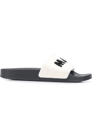 Marni Men Sandals - Logo-detail slides