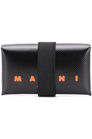 Marni Logo print leather wallet