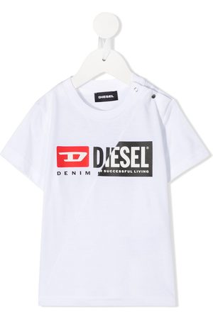 Diesel Short Sleeve - Logo-print short-sleeve T-shirt