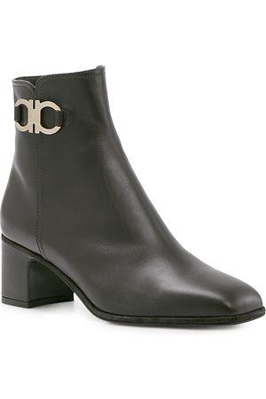 Salvatore Ferragamo Women Heeled Boots - Women's Mid Heel Booties