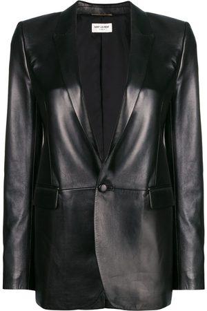 Saint Laurent Women Blazers - Leather blazer