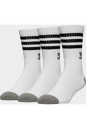 adidas Men Socks - Men's 3-Pack Roller Crew Socks in