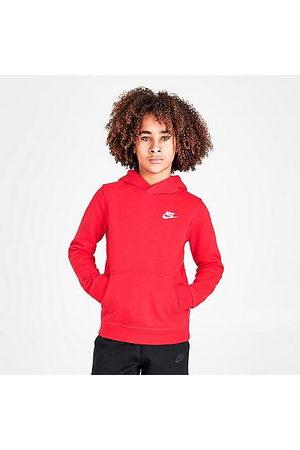 Nike Boys Hoodies - Boys' Sportswear Logo Club Hoodie