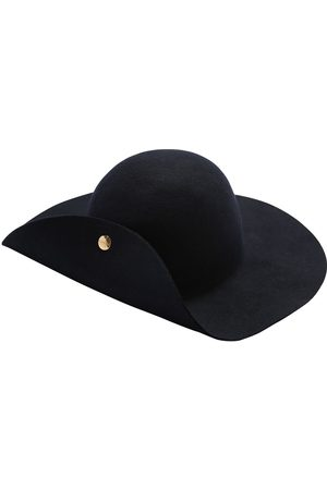 Lanvin Felt Wool Wide Brim Hat