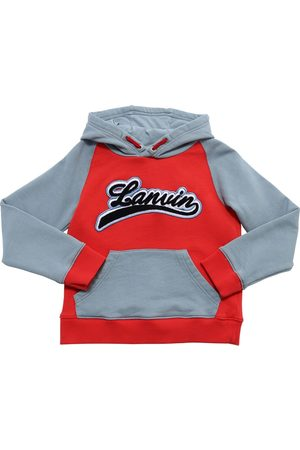 Lanvin Logo Cotton Sweatshirt Hoodie