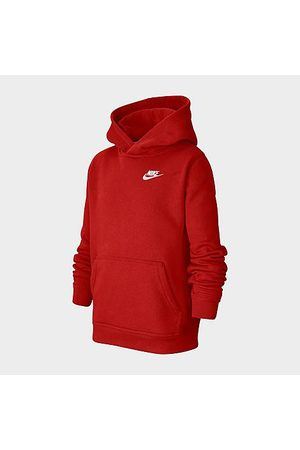 Nike Boys' Sportswear Logo Club Hoodie in Size Small Cotton/Polyester/Fleece