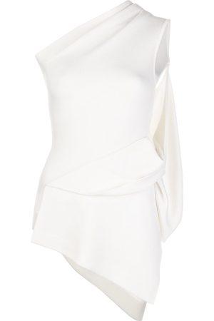 MONSE Women Tops - One shoulder draped top