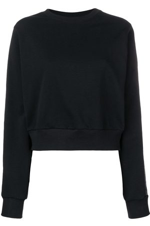 NO KA' OI Women Hoodies - Tape sleeve sweatshirt