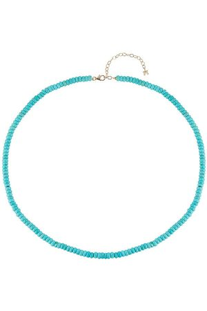 Mateo Turquoise Beaded Necklace - 4mm Beads
