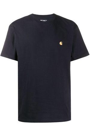 Carhartt Logo embroidered crew neck T-shirt