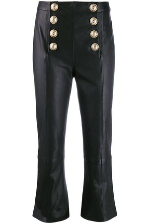 Balmain Flared cropped trousers