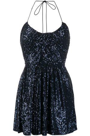Saint Laurent Sequinned mini dress