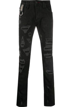 Philipp Plein Low rise skinny jeans