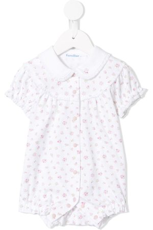 Familiar Baby Rompers - Floral print pyjama romper