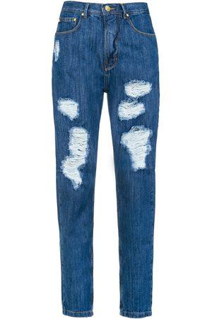 AMAPÔ High waist flared trousers